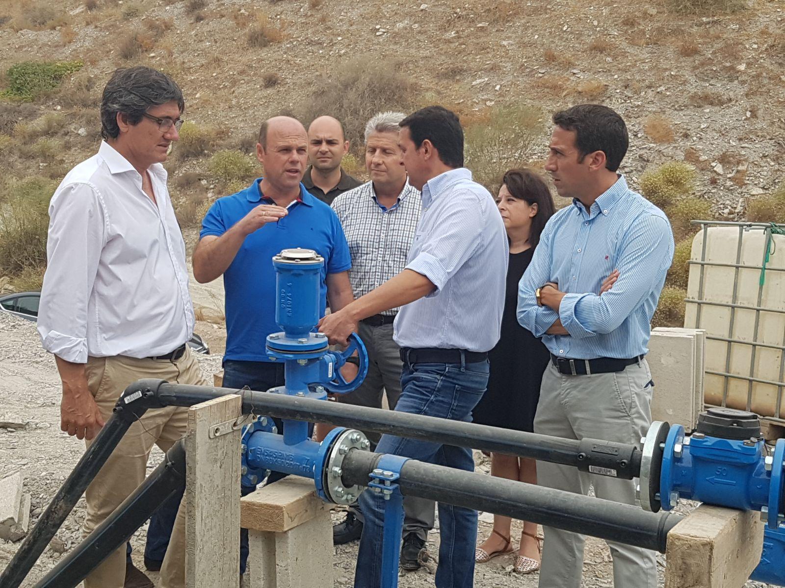 Ciudadanos Adra se congratula del avance de las obras para llevar el agua potable a la Alquería