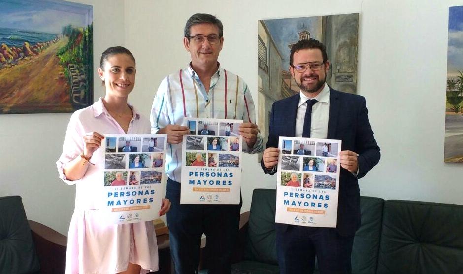 Ayuntamiento y Clece ponen en marcha la 'II Semana de las Personas Mayores' de Adra