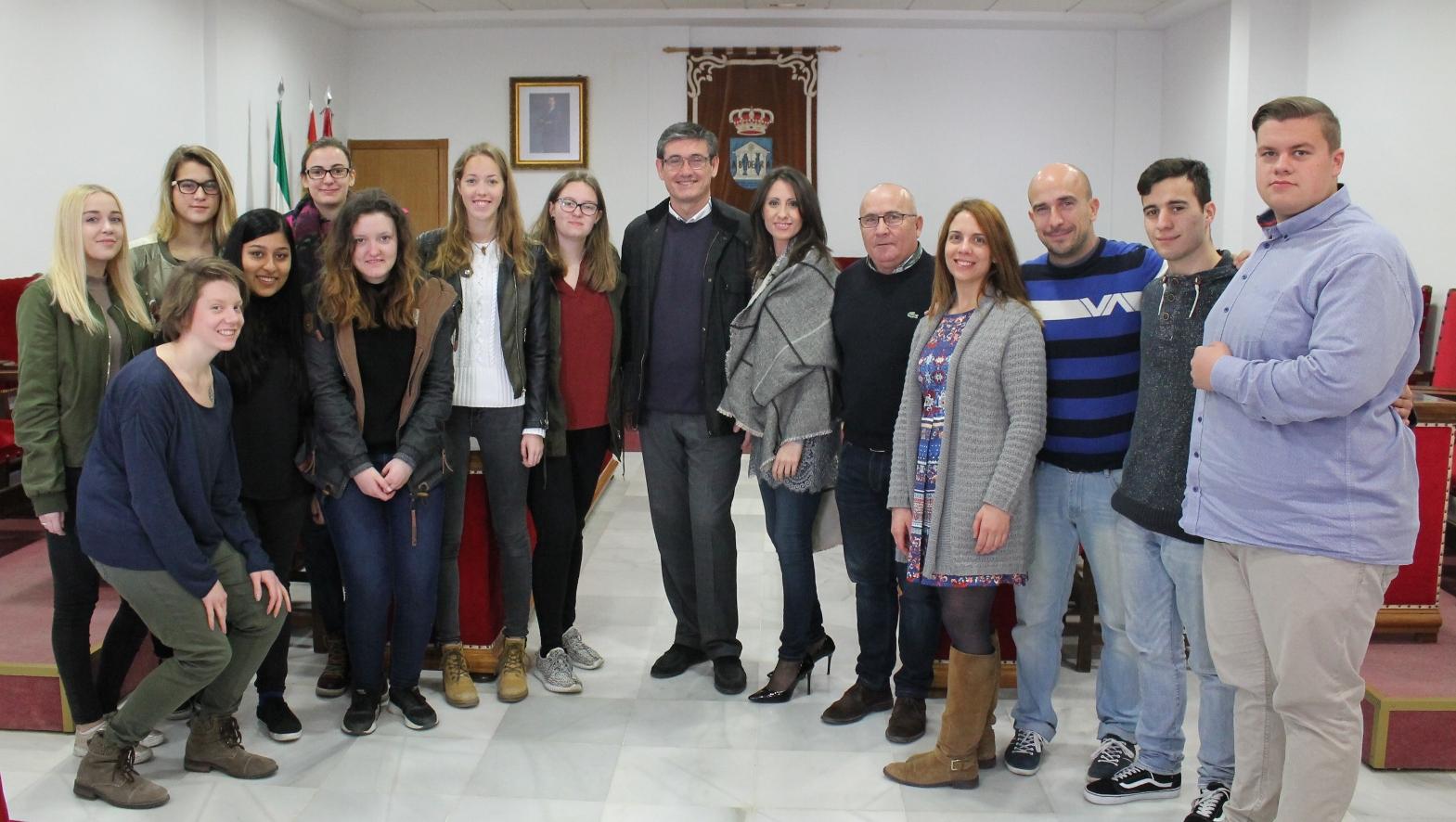 Adra volverá a recibir estudiantes alemanes del proyecto europeo Erasmus + K1
