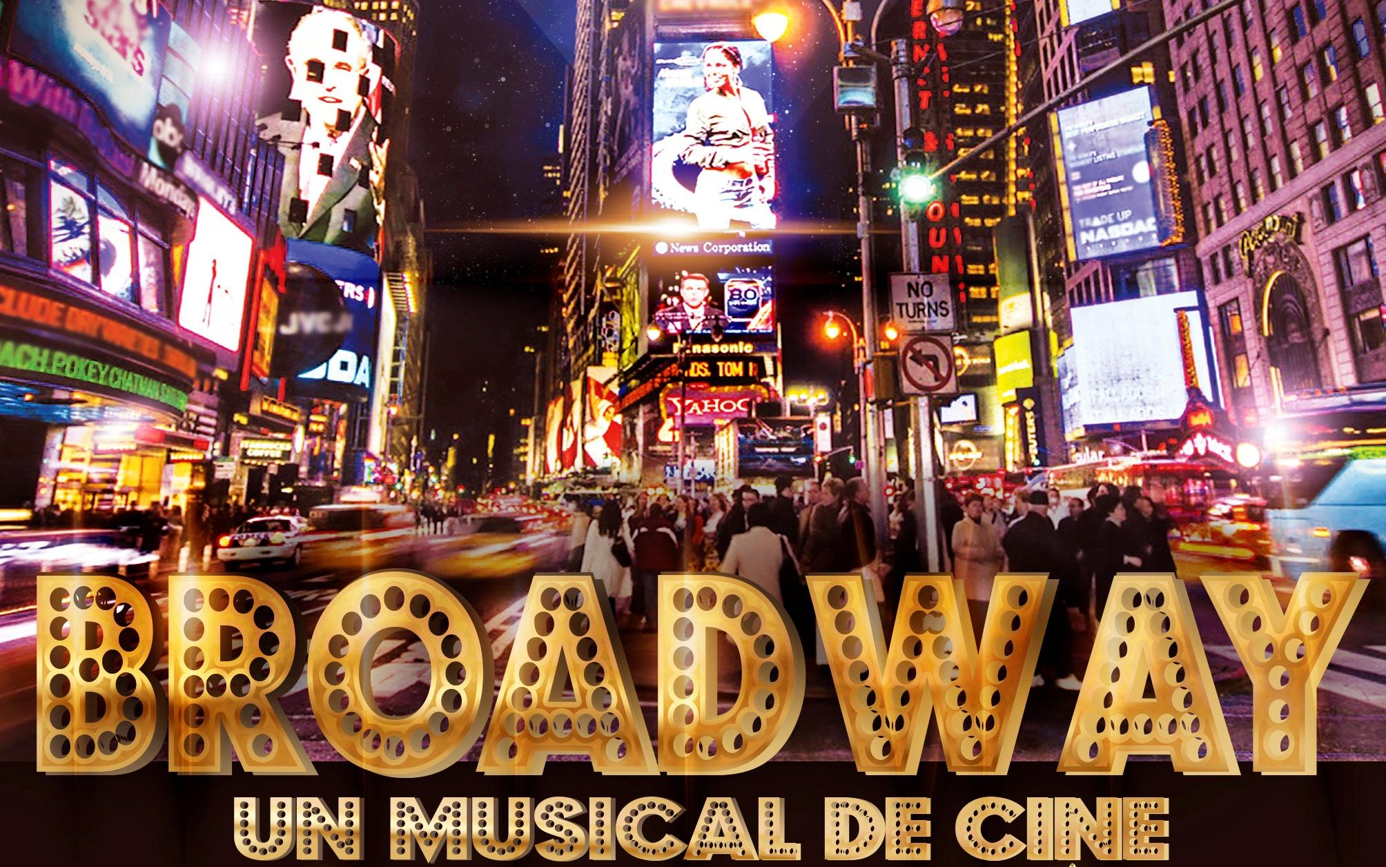 'Broadway, un musical de cine' este viernes en el Centro Cultural de Adra