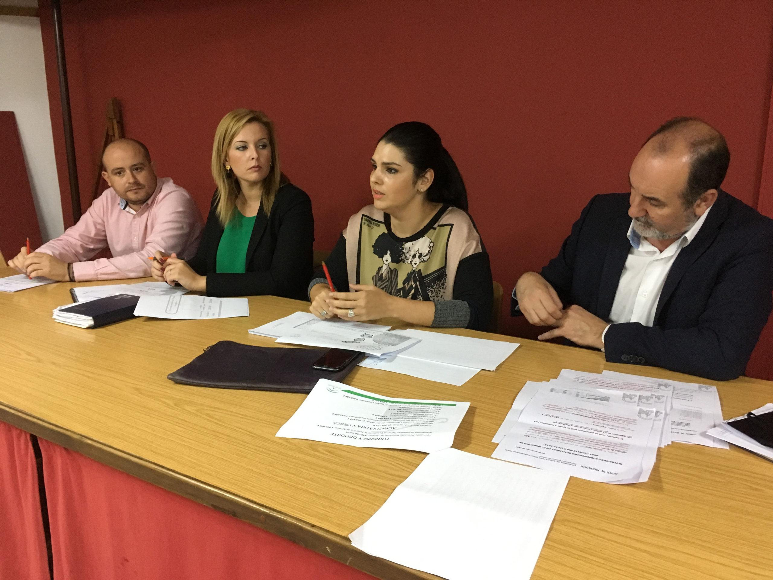 El PSOE destaca las inversiones de la Junta de Andalucía en Adra en el último año