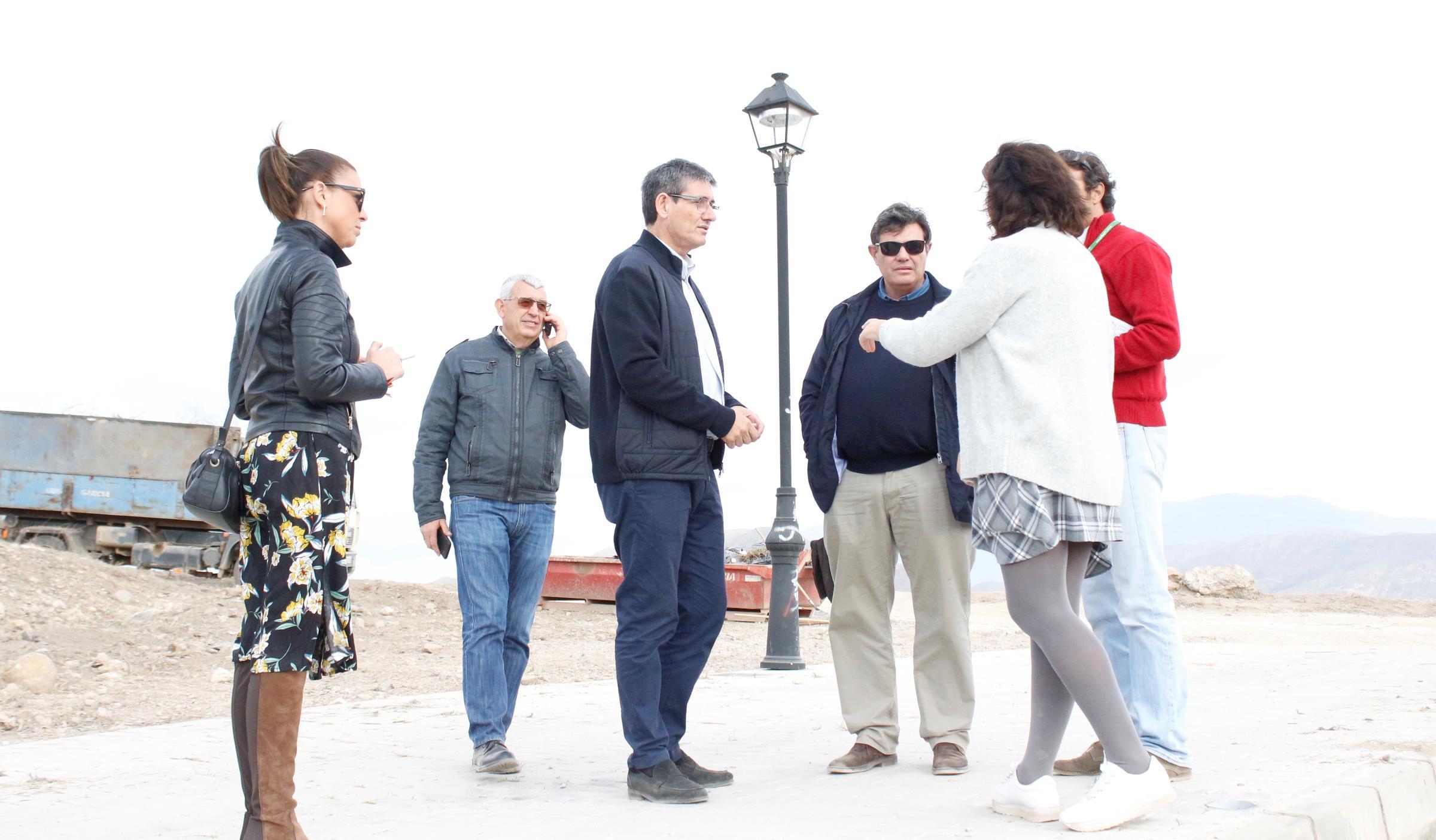 """Carmen Belén López destaca el impulso al Cerro de Montecristo """"clave para Adra y Andalucía"""""""