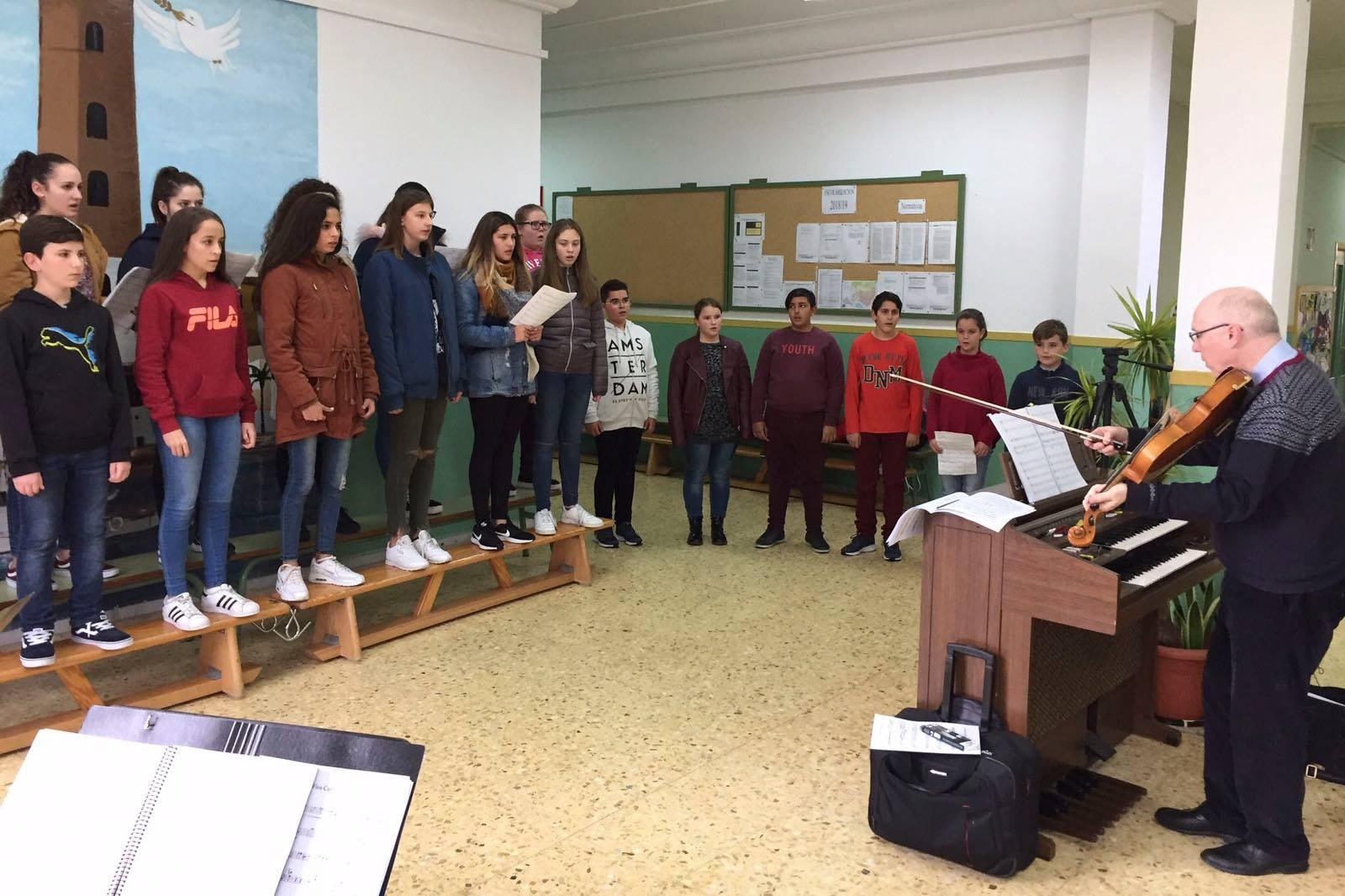 La OCAL se fusionará con el Coro Infantil Pedro Mena de Adra este sábado