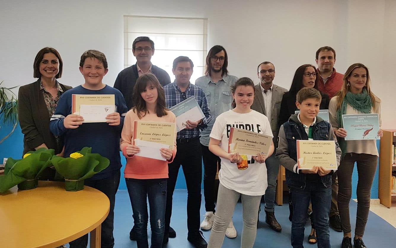 Entregados los premios del XVII Certamen de Cuentos y XIX Certamen de Narración Corta