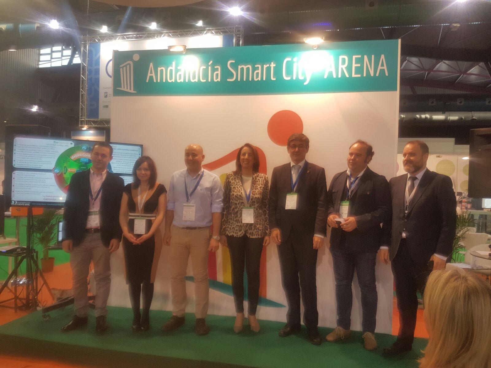 Adra presenta sus proyectos tecnológicos en  Andalucía Smart City Arena