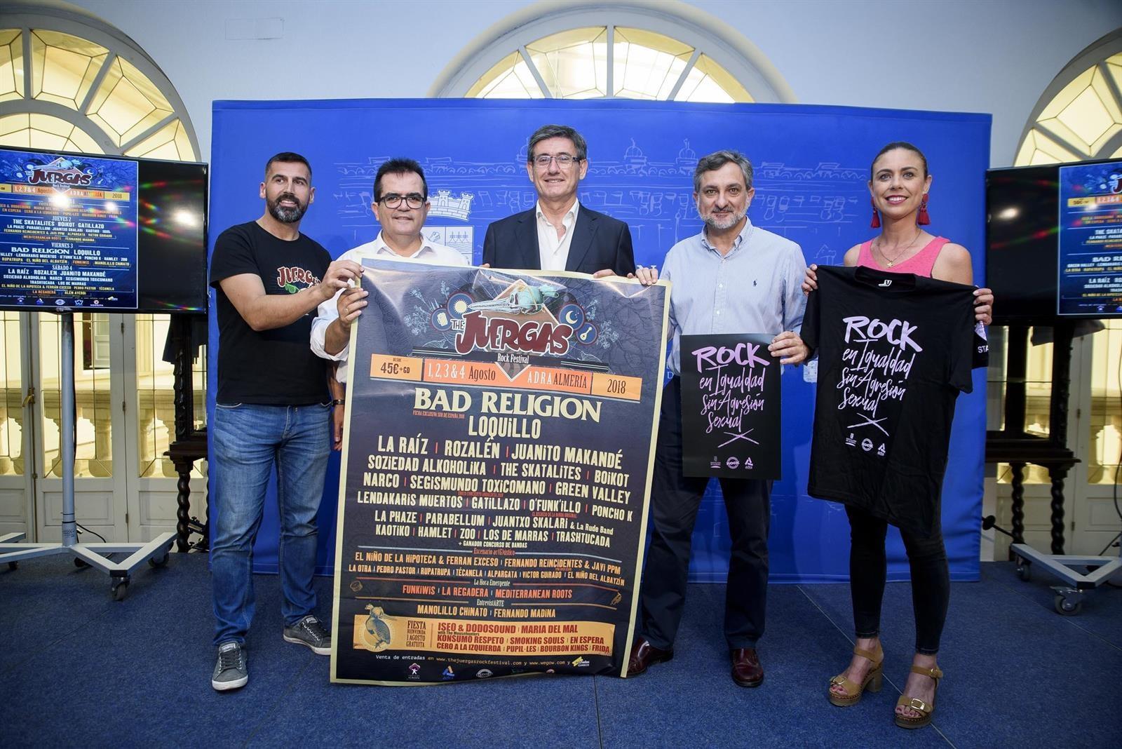 El 'Juergas Rock' luchará contra las agresiones sexuales durante todo el festival