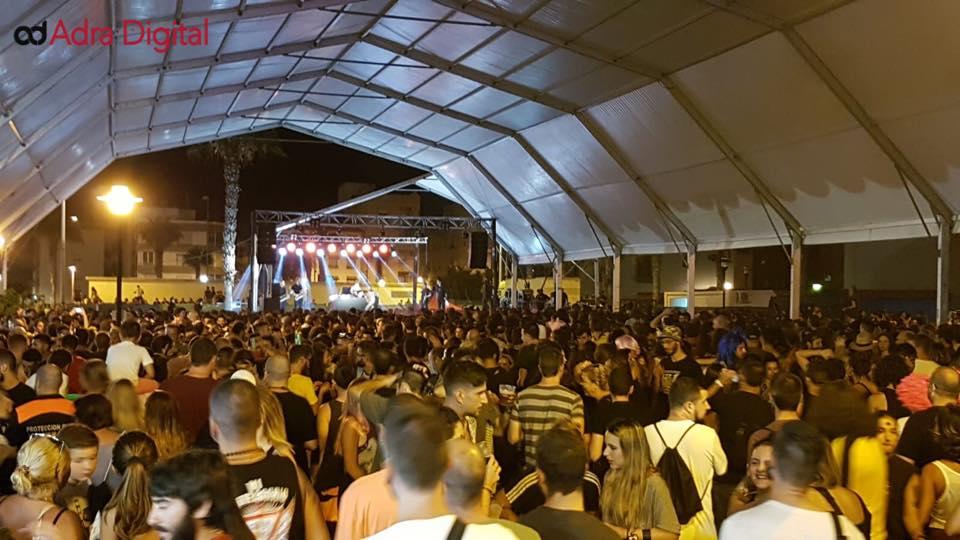 Arranca el sexto Juergas Rock Festival con una multitudinaria fiesta de bienvenida