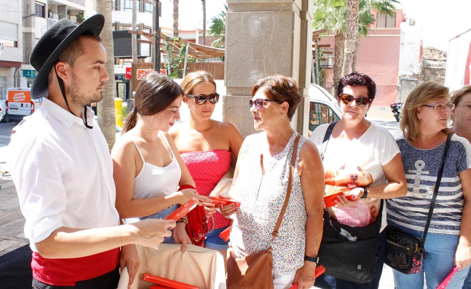 Inauguración de la Feria de Adra