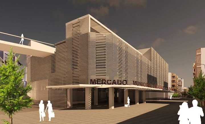 nuevo proyecto del Mercado Central de Adra