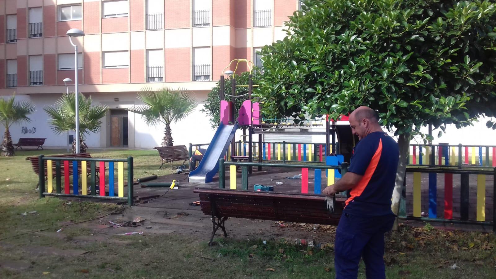 mantenimiento de parques Adra