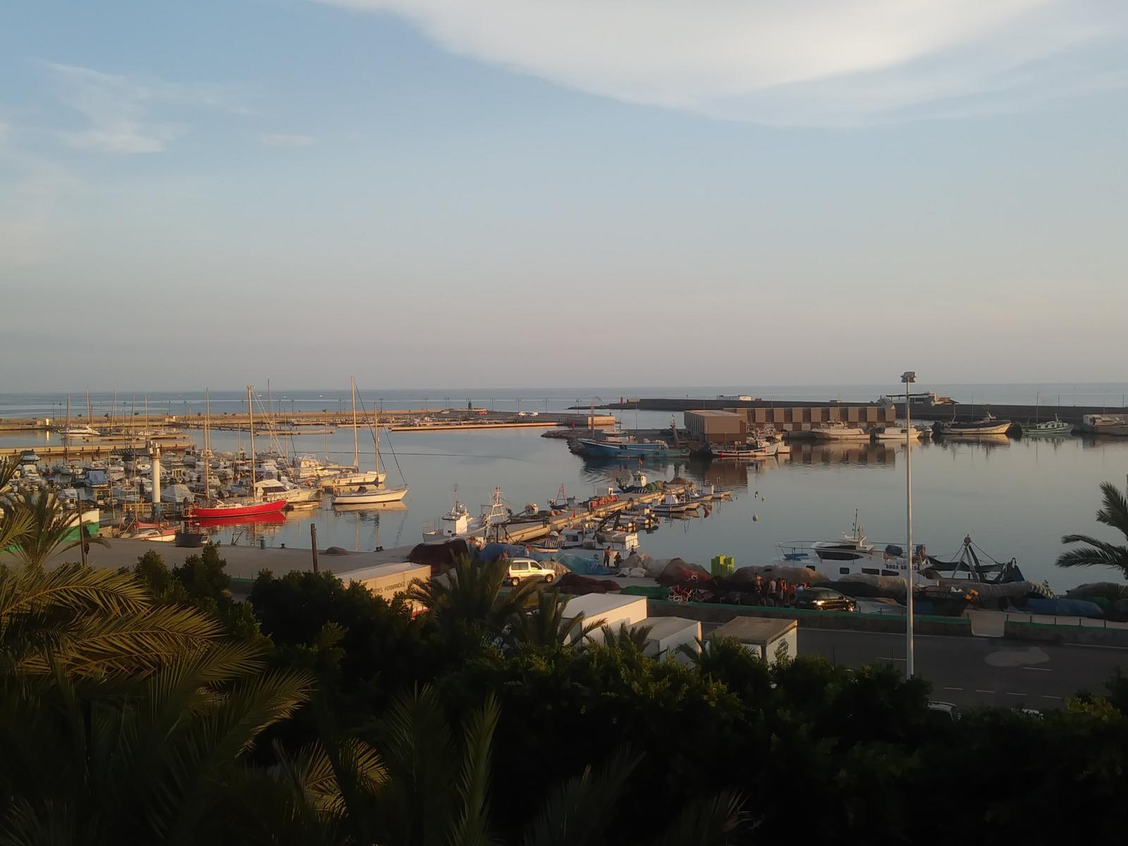 puerto de adra vista superior