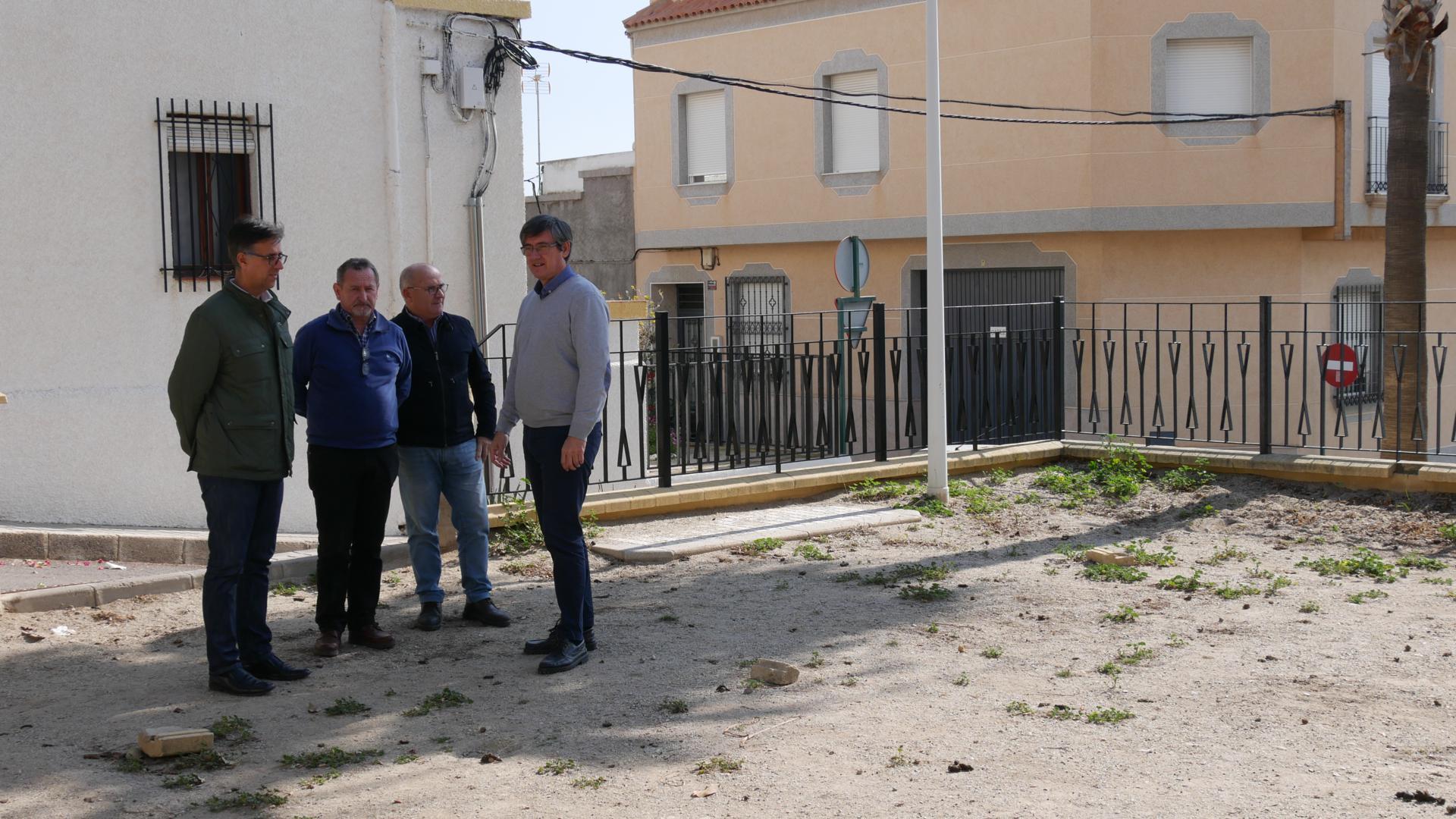 El Ayuntamiento de Adra construirá un parque infantil en la Plaza de Calle Estudiantes