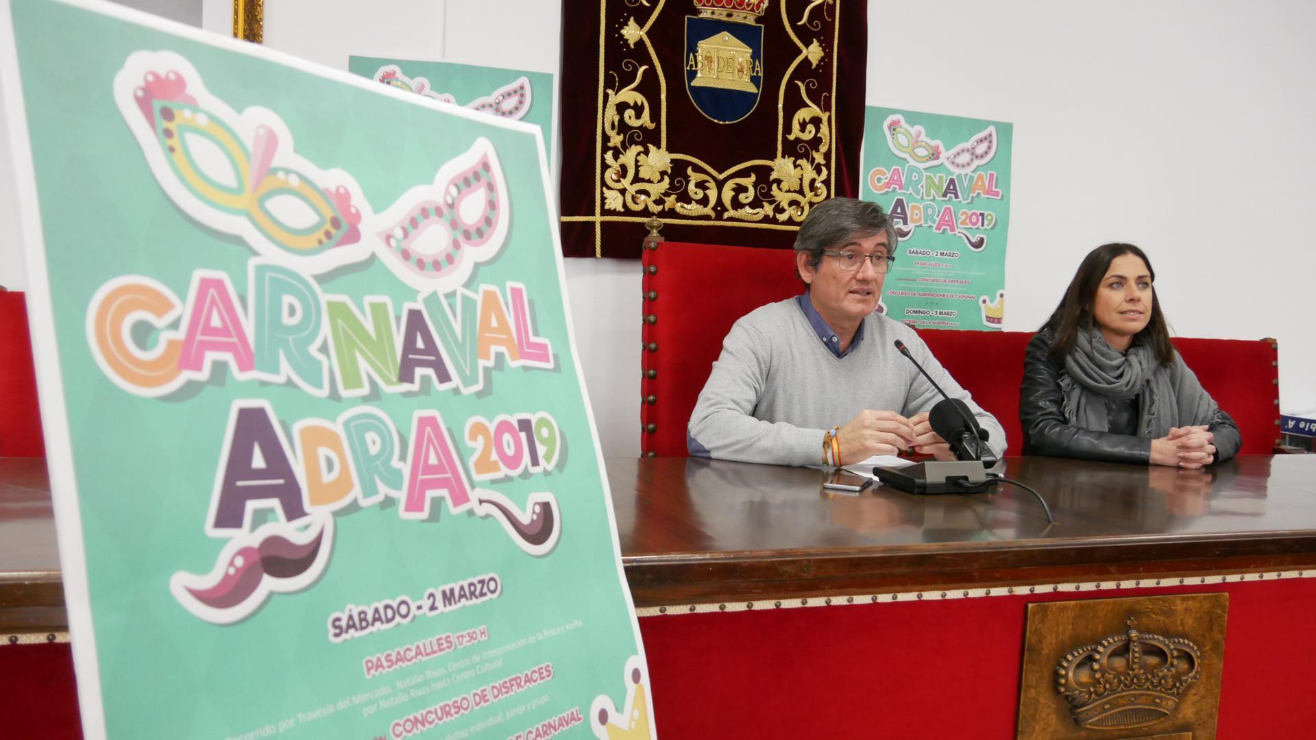 presentacion carnaval de adra 2019