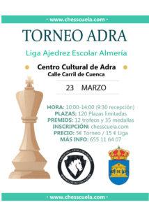 cartel torneo ajedrez adra 2019
