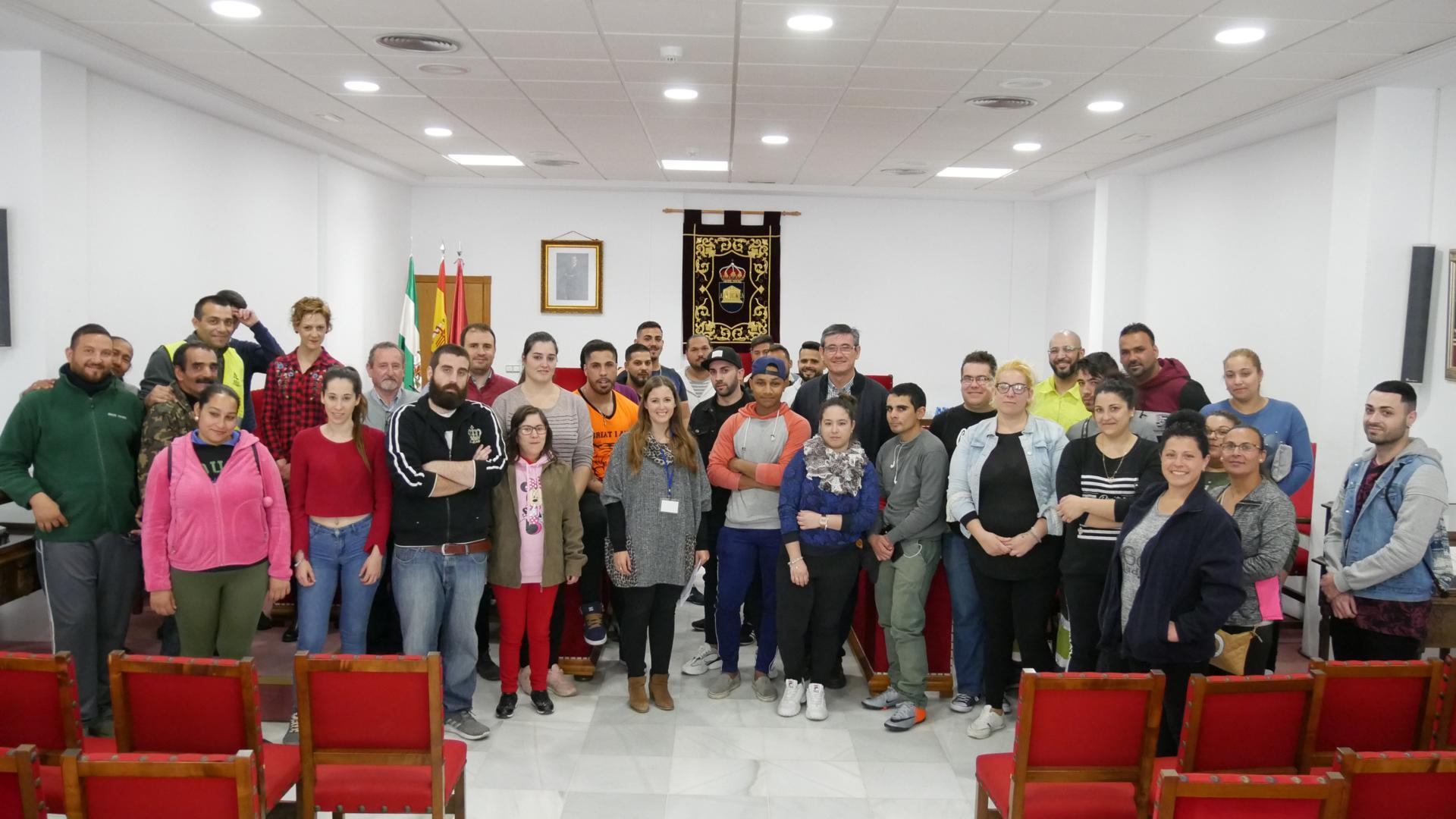 Cuarenta nuevos trabajadores se suman al Ayuntamiento de Adra para reforzar servicios