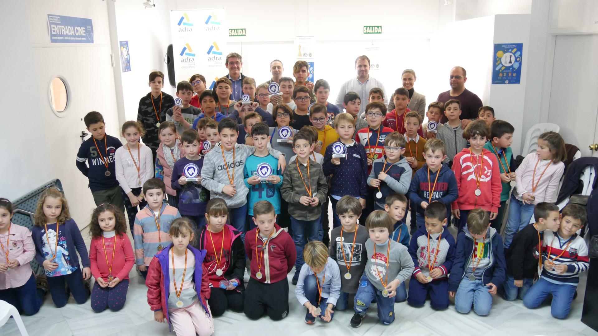 Éxito abderitano en el Torneo de Adra de la II Liga de Ajedrez escolar 'Chesscuela Almería'