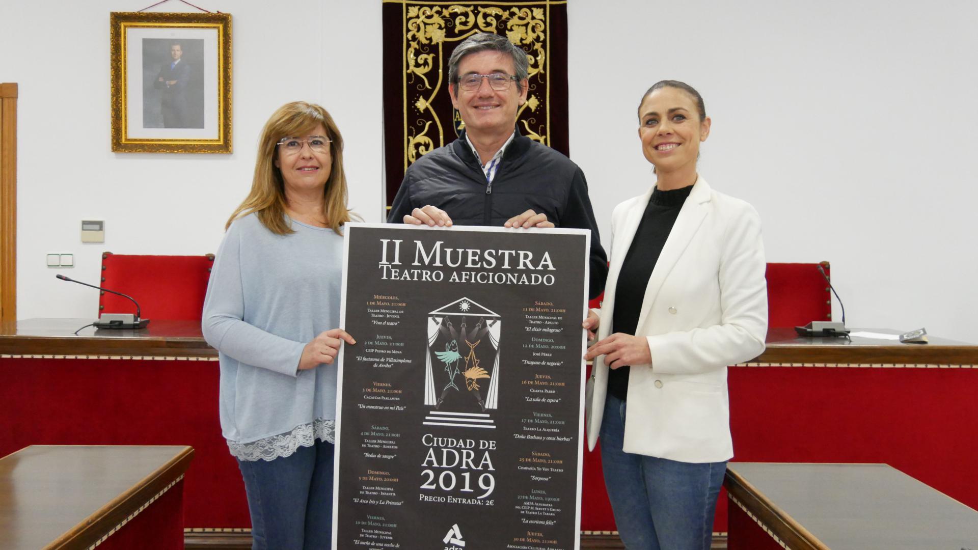 En mayo comienza la II Muestra de Teatro Aficionado Ciudad de Adra