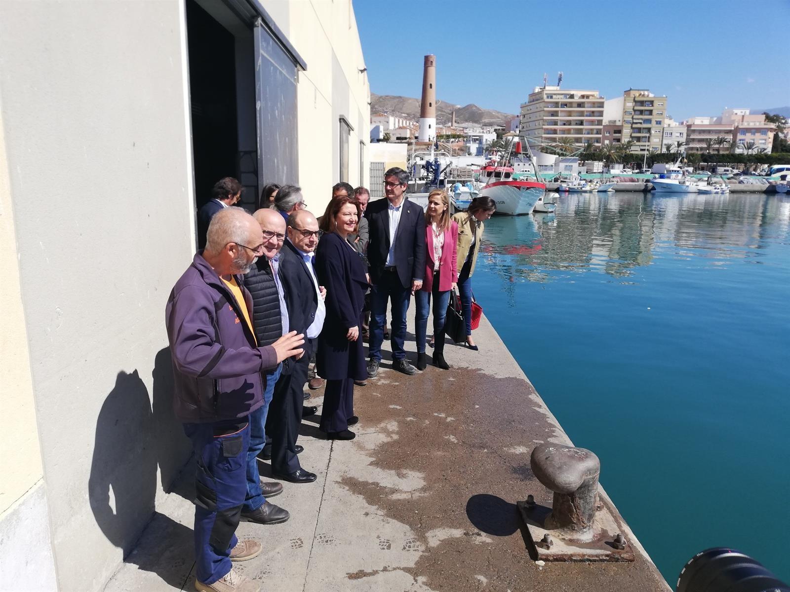 La Junta licita por 3,3 millones la reordenación y zona náutico deportiva del Puerto de Adra