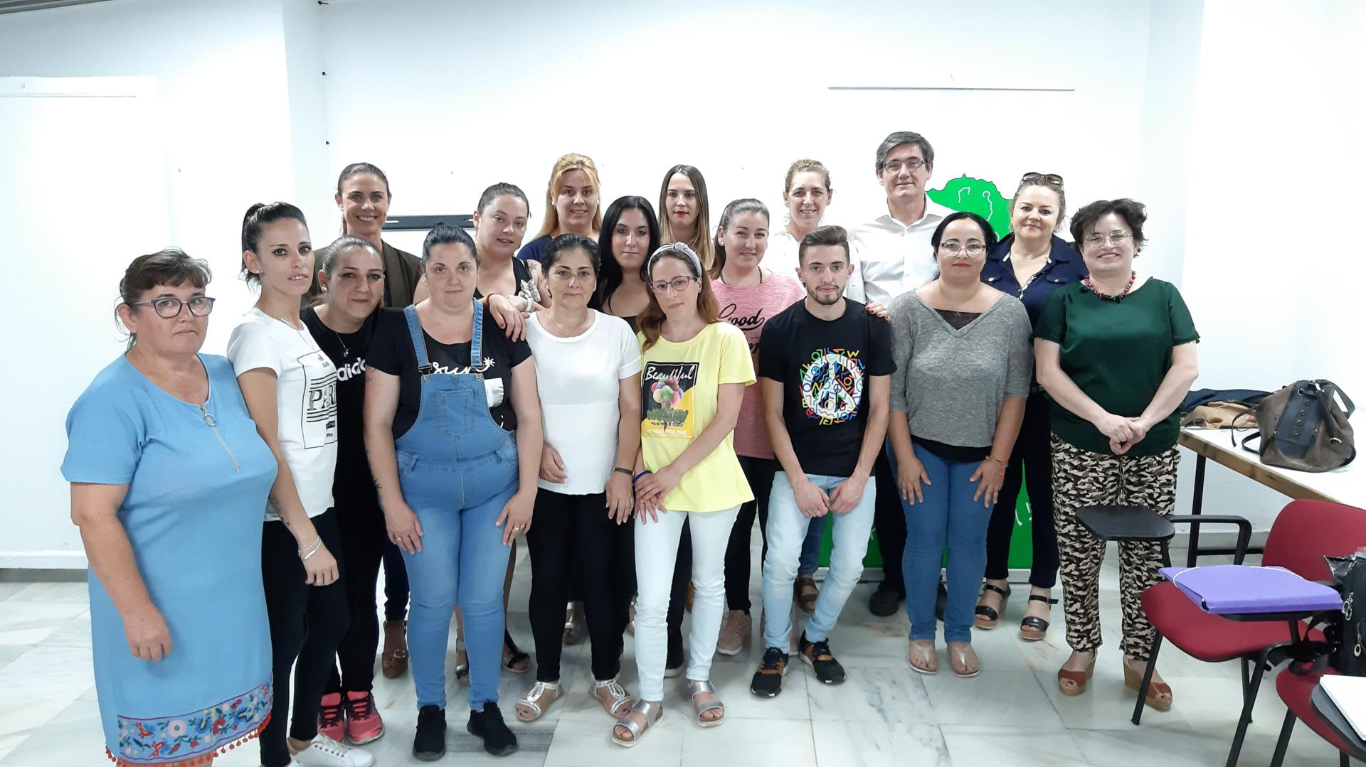 AFAMMER clausura en Adra el curso de Atención Sociosanitaria a Personas Dependientes