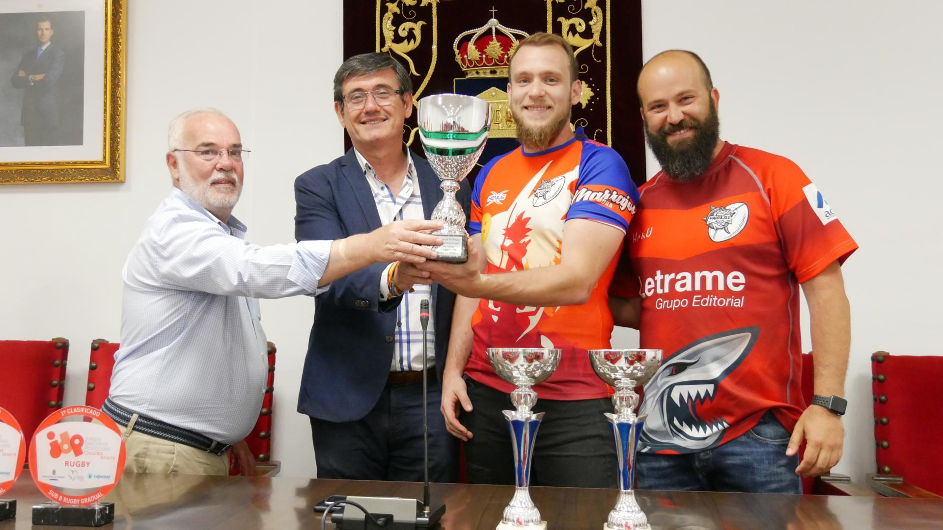 El Ayuntamiento de Adra renueva su compromiso de colaboración con el rugby