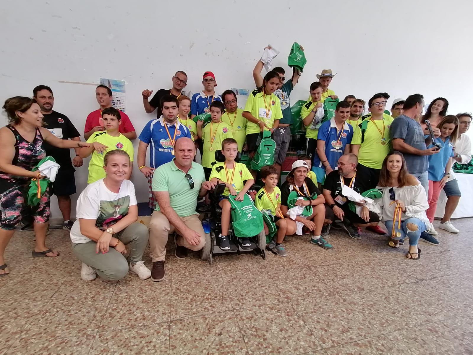Éxito del III Campeonato de Andalucía de petanca FANDDI celebrado en la ciudad de Adra