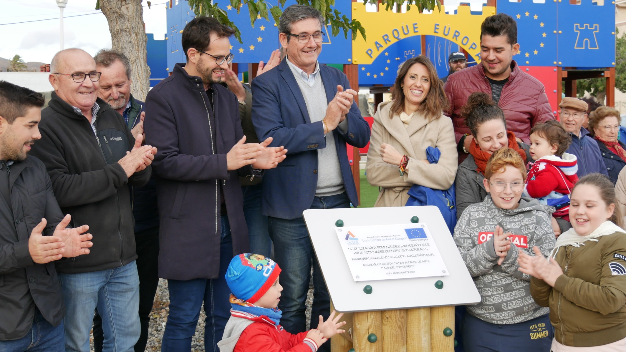 Adra inaugura su 'Parque Europa' con el primer circuito 'Cross Riders' del municipio