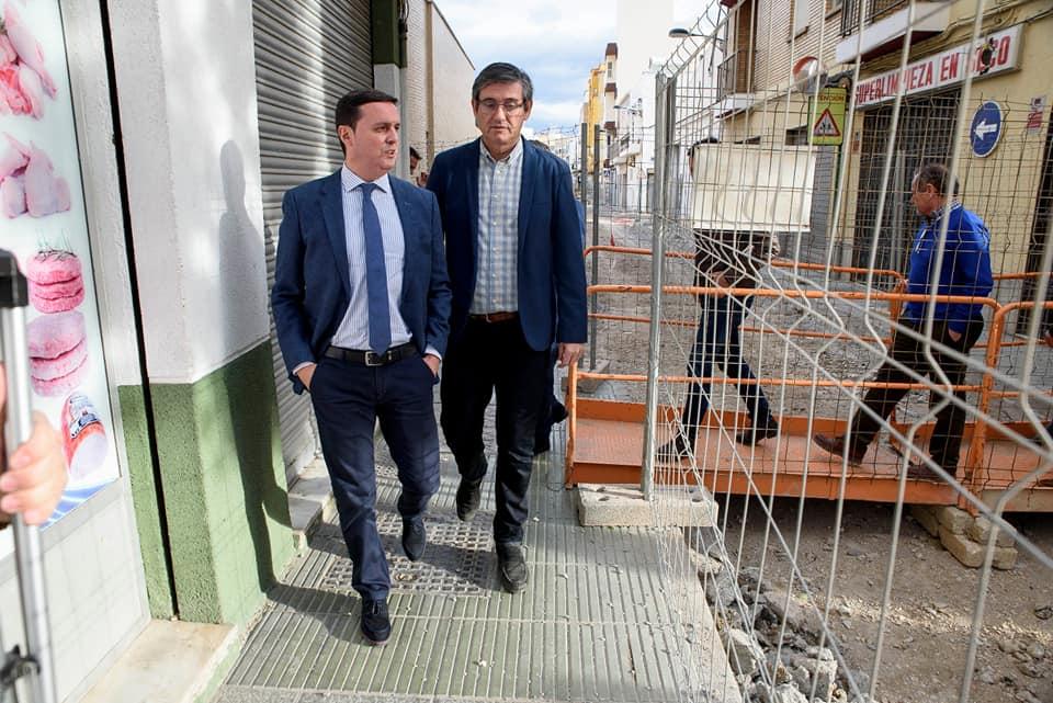 """El alcalde de Adra anuncia que la llegada de agua potable a La Parra está """"un paso más cerca"""""""