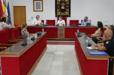Reunión delegado de Salud Ayto Adra