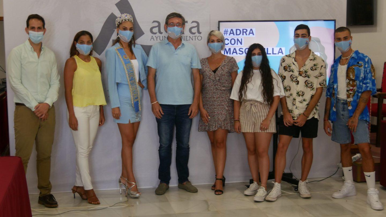 El Ayuntamiento lanza la campaña 'Adra con mascarilla' con el apoyo de influencers locales