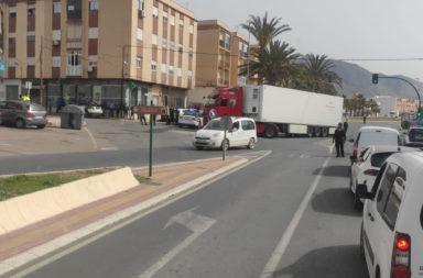 atropello ciclista Adra