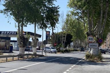 entrada de Adra
