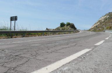 pavimento N-340-a entre Caracola y la rabita