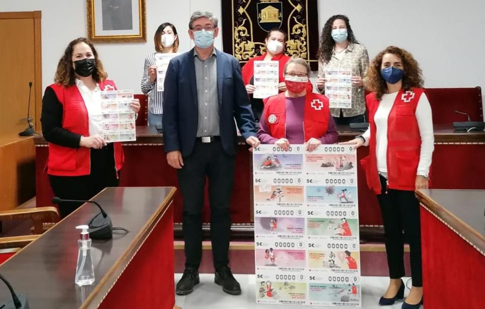 Sorteo Cruz Roja Adra alcalde