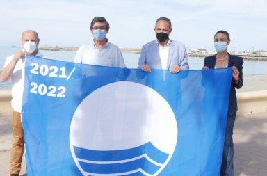 Entrega de Banderas Azules Adra 2021