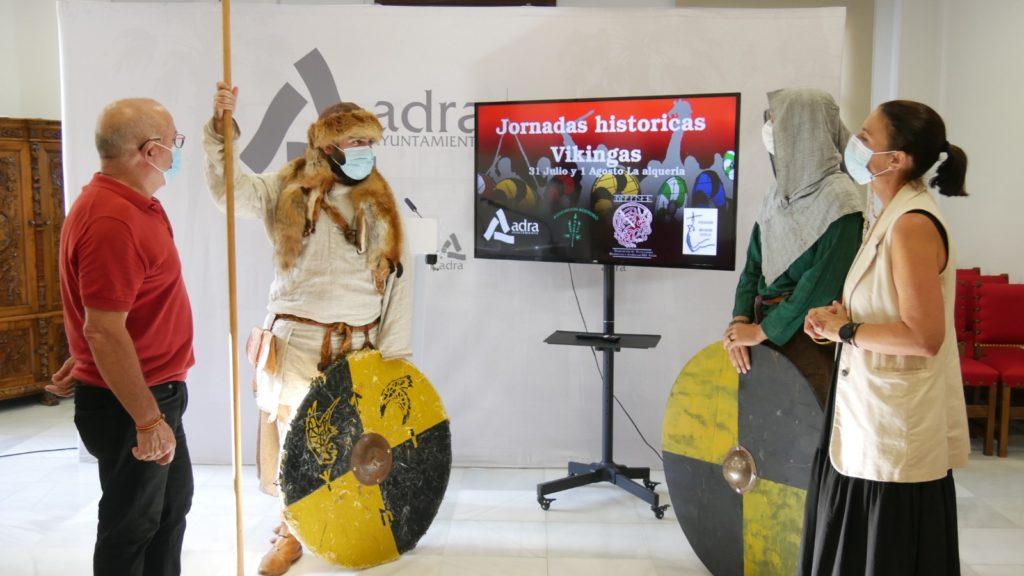 Presentación Jornadas Históricas Vikingas (La Alquería)