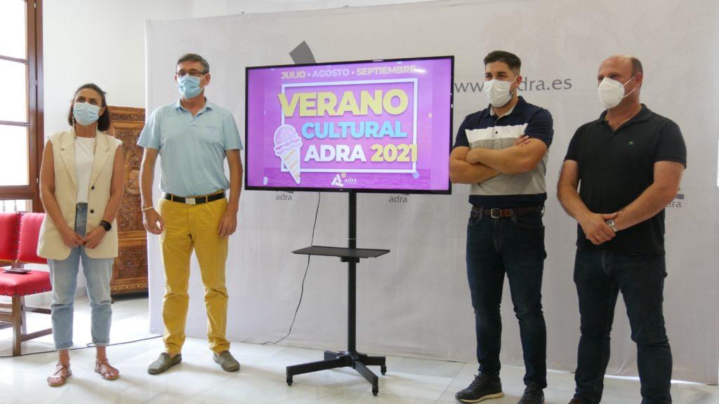 Presentacion Programación cultural Adra 2021