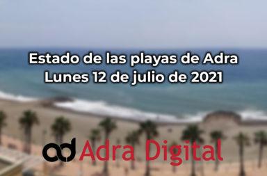 playas de adra 12 de julio de 2021