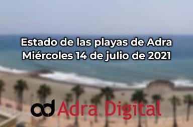 playas de adra 14 de julio 2021