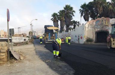 Pavimentación Camino del Ingenio Adra